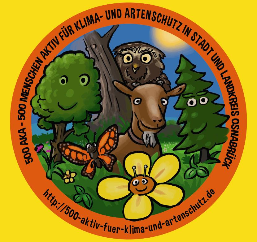 500 AKA – 500 Menschen aktiv für Klima- und Artenschutz in Stadt und Landkreis Osnabrück